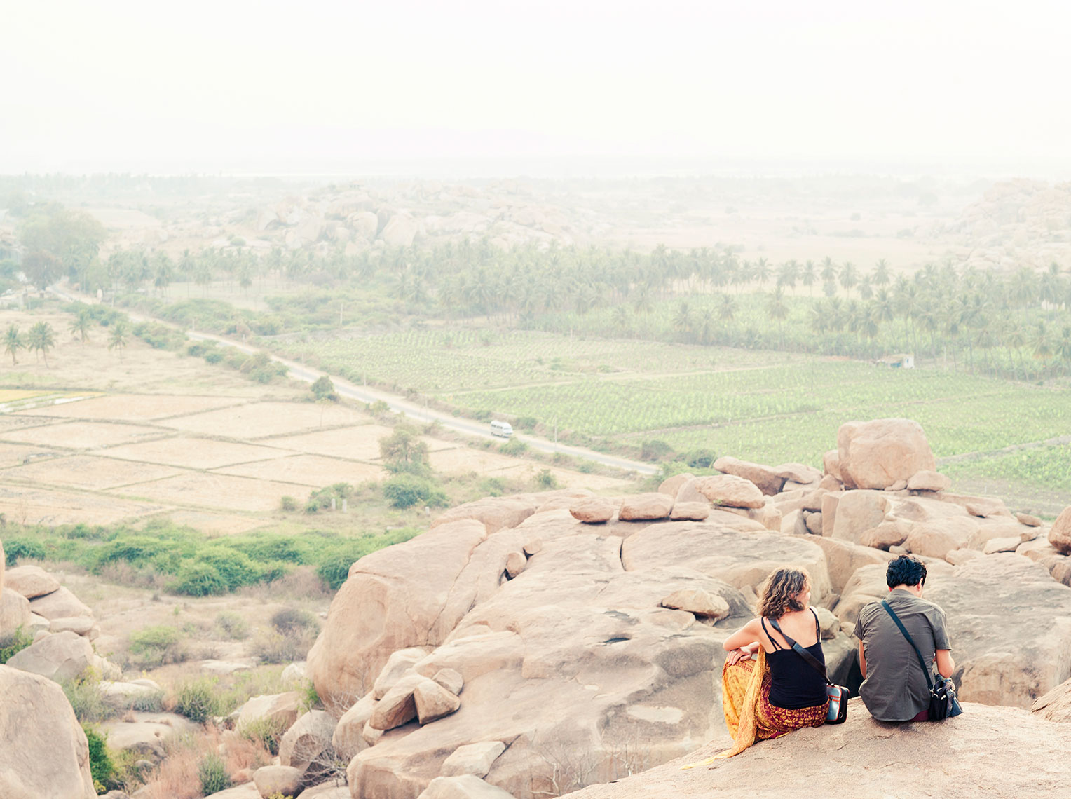 Couple in Hampi
